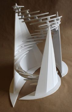 Architecture Student, Concept Architecture, Modern Architecture, Abstract Sculpture, Sculpture Art, Design Model, Design Art, High School Art Projects, Sculpture Projects