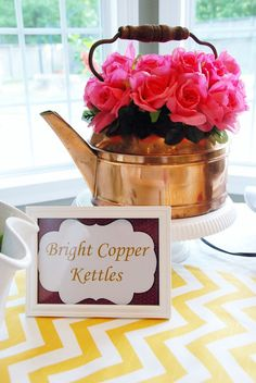 """Cute Idea for Bridal Shower/Party - """"These Are a Few of My Favorite Things"""""""