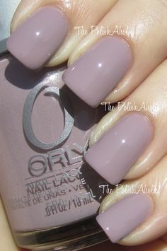 Orly Spring 2012 Cool Romance Collection- You're Blushing is a light purple taupe.