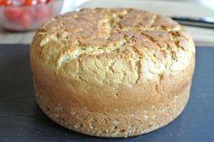 Schnelles Brot im Topf gebacken mit Olivenöl ohne gehen ohne kneten auch für Thermomix. Prima geeignet für Brotback-Einsteiger, gelingt leicht für Anfänger.