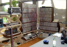 Joe's Modular Synthesizer at Ars Electronica 2004.  http://www.synthgear.com/2010/synthesizers/joe-paradisio-modular-synth/