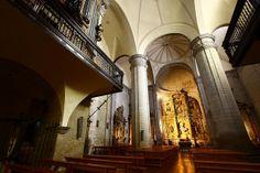 Iglesia San Miguel Arcangel de Larraga, Navarra, Spain