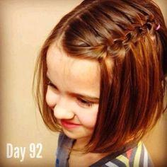 Peinado para niña pelo Corto