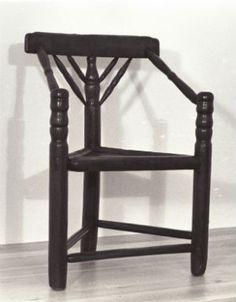Three Legged Chair from Plimoth Plantation
