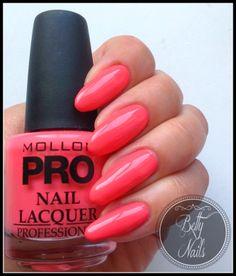 Betty Nails: Mollon Pro | Orange - Escada - Neomagic - Lounge