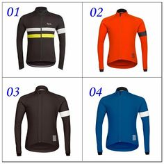 d33a67e514c Hot New Rapha Jerseys Black Long Sleeves Rapha Cycling Jerseys Winter Cycling  Shirts Thermal Fleece Bike Wear Comfortable Breathable Online with ...