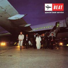 """The English Beat, """"Special Beat Service,"""" 1983. (Note the band's logo, based on that of BEA circa 1965.)"""