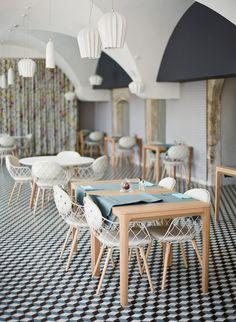 Modern French minimalism. Interior design inspiration at Hôtel Le Couvent des Minimes.