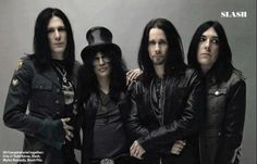 Todd Dammit Kerns, Slash, Myles Kenedy