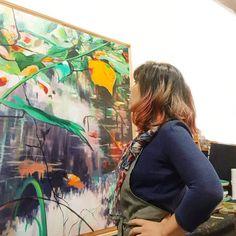 "45 Me gusta, 4 comentarios - Castrolara (@ncastrolara) en Instagram: ""Que ganas de volver al taller.  Puesta a punto. #castrolara  #puestaapunto  #taller"" Painting, Instagram, Art, Atelier, Dots, Art Background, Painting Art, Kunst, Paintings"