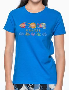 36279d49 Check out the deal on Hawaii Island Reef Rainbow Fish T-Shirt at Shaka Time