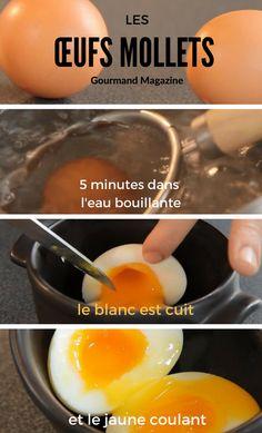 Faire des œufs mollets ? Rien de plus simple ! Suivez le guide !