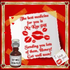 Free online The Best Medicine ecards on Everyday Cards E Greetings, Happy Birthday Celebration, Get Well Wishes, Get Well Soon, Love Notes, E Cards, Pills, Feel Better, Feel Good
