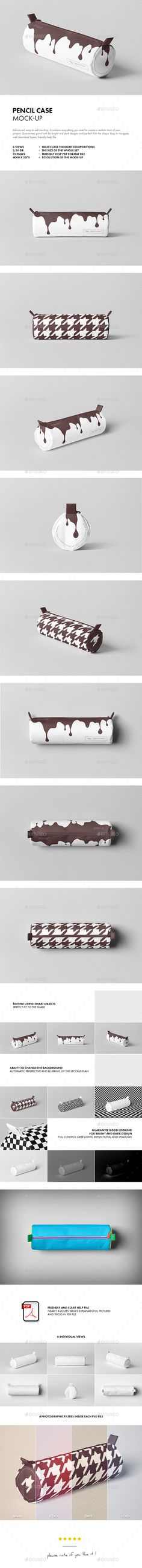 Pencil Case Mock-up - Miscellaneous Product Mock-Ups
