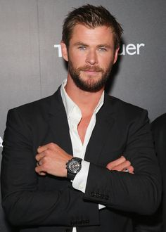 Chris Hemsworth Tag Heuer Event Australia February 2016 | POPSUGAR Celebrity