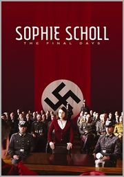 In 1943, as Hitler continues to wage war across Europe, a group of college students mount an underground resistance movement in Munich. Dedicated to the downfall of the monolithic Third Reich war machine, they call themselves the White Rose. One of its few female members, Sophie Scholl is captured during a dangerous mission to distribute pamphlets on campus with her brother Hans.Her cross-examination by the Gestapo quickly escalates into a searing test of wills.