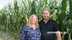 Η συγκομιδή καλαμποκιού και συνέντευξη με το Δημήτρη Καραγεώργο πρωτοπόρο αγρότη- κτηνοτρόφο #corn #farmer #breeder #harvest #interview #tastedriver