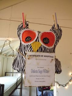 """Girl's Camp theme ...that's what it's OWL about! Believe in """"whooooo"""" you are"""