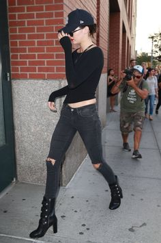 Queen Kendall — September 1, 2015- Kendall heading back to Kanye's...