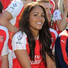 Alex Scott - Arsenal Arsenal Football Shirt, Football Tops, Football Girls, Female Football Player, Football Players, Arsenal Fc Players, Volleyball Images, Theo Walcott, Arsenal Ladies