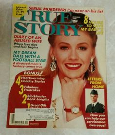 True Story Magazine from December 1990
