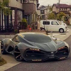 2015 Lada Raven Supercar Concept.