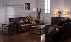 The Viscount William is a beautiful hand crafted leather sofa with classic soft sumptuous leather, studding detail, slim arms and a very comfortable sit, vintage with a modern twist. Leather Furniture, Leather Sofa, Luxury Furniture, Industrial Chic, Your Space, Contemporary, Modern, Interior Architecture, Halo
