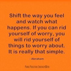 Release worry