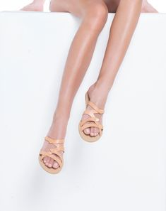 Our handcrafted luxury Greek sandals are made of exceptional quality leather, meticulously designed, using traditional techniques passed down from generation to generation for centuries. In Greece, we make leather sandals for thousands of years. Leather Sandals Flat, Flat Sandals, Gladiator Sandals, Latest Shoe Trends, Colorful Shoes, Greek Sandals, Ancient Greece, High Heels, Luxury