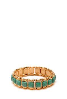Bracelet en Stretch à Fausses Turquoises 5,45 €