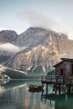 lvndscpe:Lago di Braies, Italy | by Luca Bravo