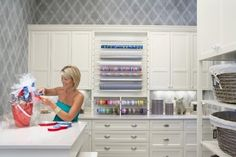 Craft & Laundry room