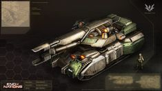 Titan Tank Concept by MikeDoscher.deviantart.com on @DeviantArt