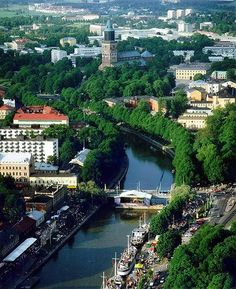 Turku, Finland - need to go here Lappland, Helsinki, Places To Travel, Places To See, Wonderful Places, Beautiful Places, Turku Finland, Scandinavian Countries, Denmark