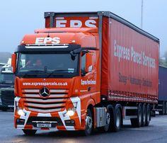 https://flic.kr/p/RdWh23 | Mercedes Actros 6x2 EPS Curtain Box DG14LSZ Frank Hilton IMG_2985