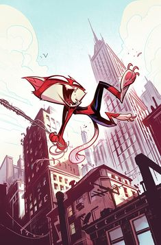 Comics by CreatureBox , via Behance
