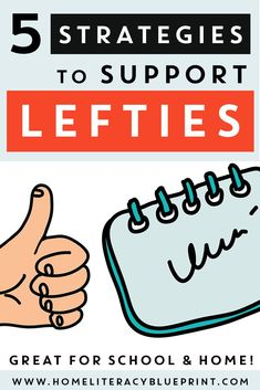 Strategies to support left-handed students. Writing Strategies, Writing Skills, Writing Tips, Hands On Activities, Kindergarten Activities, Kindergarten Teachers, 1st Grade Writing, Teaching Tips, Creative Teaching