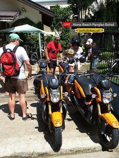 Motorcycle Rentals Bohol
