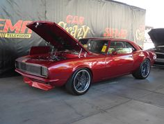 Randy LaMarr's '68 Camaro (built by Ohio's Excessive Muscle) was at the 2014…