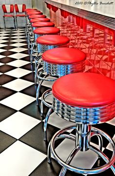 """Drug stores and """"Five & Dime"""" stores had luncheonettes inside the store in the 1950s."""