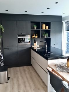 Kitchen Furniture, Kitchen Decor, Furniture Design, My Kitchen Rules, Happy New Home, Functional Kitchen, Interior Design Kitchen, Kitchen Organization, Cool Kitchens