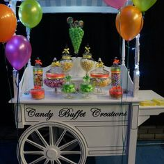neon candy bar maimas party ideas pinterest neon bar and sweet 16 rh pinterest com Neon Candyland Centerpieces neon candy buffet ideas