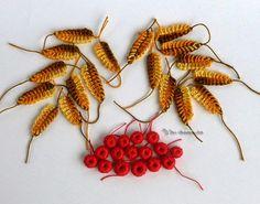 Irish crochet &: Осенний листопад СВЕТЛАНЫ КОБЗЕВОЙ