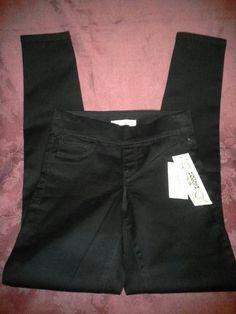 NWT VINTAGE AMERICA Blues SUNNIVA Skinny Jeans XS Juniors ? BLACK Jeggings #VintageAmericaBlues #Skinny