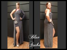 blue aruba Pink Martini, Prom Dresses, Formal Dresses, Blue, Collection, Fashion, Moda, Formal Gowns, La Mode