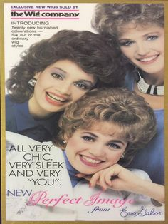 #TBT Cover of The Wig Company catalog announcing the launch of our Perfect Colours! ✨