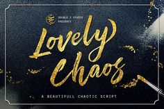 Lovely Chaos Script from FontBundles.net