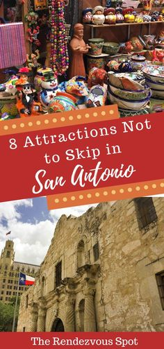 Not sure what to do in San Antonio? These 8 attractions will let you experience the best this city has to offer, the very essence of San Antonio! Don't miss out with San Antonio musts like The Alamo, Market Square, Riverwalk River Cruises, and more! Best Vacation Spots, Best Vacations, Vacation Destinations, Vacation Ideas, Travel Couple, Family Travel, San Antonio Attractions, San Antonio Vacation, Visit San Antonio