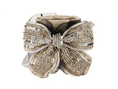 Evening Cuffs....pretty with an outfit and also has functional storage for money and keys, etc..