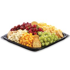 cubed cheese meat tray - Google Search Cheese Fruit Platters, Cheese And Cracker Platter, Meat And Cheese Tray, Cheese Cubes, Party Platters, Food Platters, Meat Trays, Party Trays, Fruit Trays